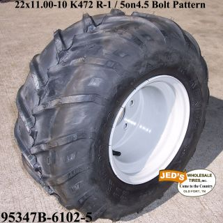 22x11 00 10 R 1 Lug Tire Rim Wheel for Grasshopper Zero Turn Riding Lawn Mower