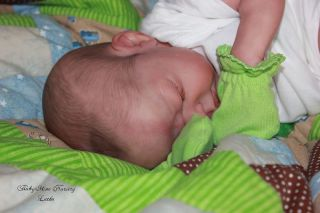 Babymine Letha Le 61 500 Reborn OOAK Baby Doll Boy 18in Everleigh Eagles 5lb 6oz