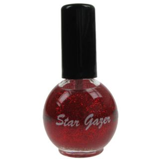 Stargazer Nail Polish Varnish Enamel 148 Glitter Red