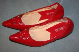 Michael Kors Astor Grommet Red Pumps Heels Shoes 7