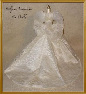 Vintage Mommy Made Wedding Dress Gown w Train Veil