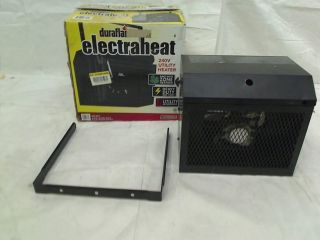 DURAFLAME 72 in 2500 Watt Garage Fan Heater Black $149 96