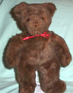 Retired Ty Classic Plush Brown Baby PJ Teddy Bear