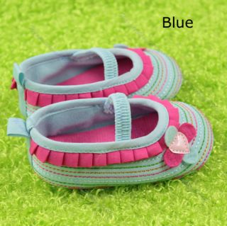 New Cute Toddler Baby Girl Princess Dance Shoes Lovely Kid Shoe