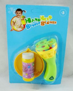 ELC Hand Held Bubble Blower Gun Outdoor Baby Kids Play Toys