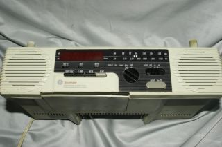 GE Spacemaker Under Cabinet Radio Cassette Player Model 7 4285A