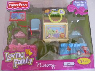 Fisher Price Loving Family Baby Nursery