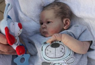 Beautiful Reborn Newborn Baby Boy Doll Seraphina Sam's Reborn Nursery