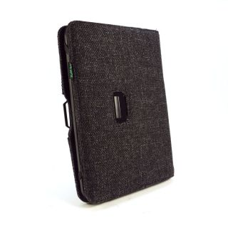 Tuff Luv Type View Clean Pad Hemp Case for Kindle Fire HD Nook 7 HD Black