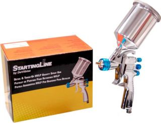 New DeVilbiss Startingline Mini Detail Touch Up HVLP Spray Gun Auto Car Paint