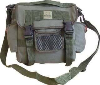 Mens Travel Army US Combat Canvas Messenger Sport Satchel Shoulder Bag Green New