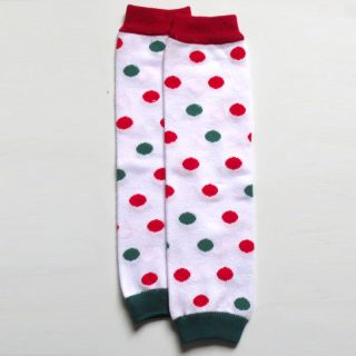 Foral Xmas Day Baby Legs Socks Christmas Toddler Girl Boy Kids Arm Leg Warmers
