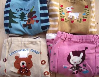 Animal Trousers Leggings Pants for Baby Toddler Infant Boy or Girl 12 Styles