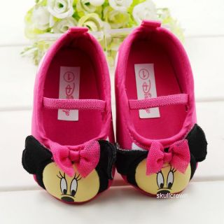 Baby Leopard Mickey Mouse Crib Shoes Walking Sneaker for 3 18 Months 10 Styles
