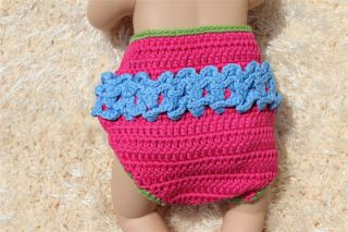 Handmade Knit Crochet Pink Green Owl Baby Hats Shoes Nappy Newborn Photo Prop