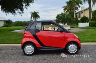 2013 Smart Fortwo Pure Coupe Great Fuel Economy Under 5K Miles