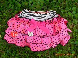 Girl Baby Clothing Ruffle Pants New Bloomers Nappy Skirt