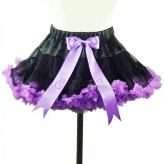 Xmas Girls Party Dance Dress Up Pettiskrit Tutu Costume Multi Color Skirt Sz 1 8