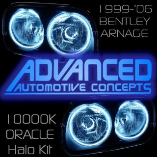 1999 04 Bentley Arnage Oracle Headlight Halo Demon Eyes