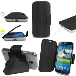 Sonivo Origami Flip Case and Stand for The Samsung Galaxy S4 Black