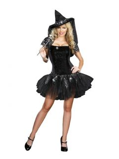 2013 Women Sexy Witch Pirate Costume Fancy Adult Dress Up Halloween Gothic Hat