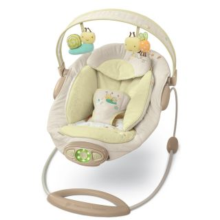 Bright Starts Ingenuity Bella Vista Bouncer Seat Vibrating Chair New