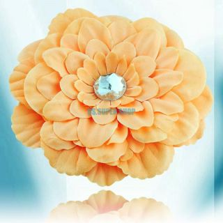 12 Pcs Peony Flower Girls Baby Clip for Hair Headband