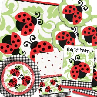 Lovely Ladybugs Baby Shower Birthday Party Items All in One Listing