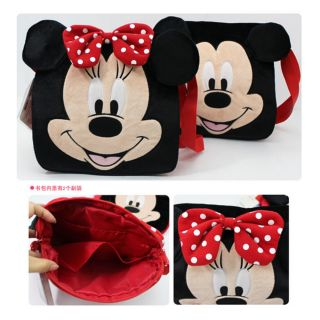 Disney Mickey Minnie Stitch McQueen Pooh Backpack Shoulder Bag B005 Detachable