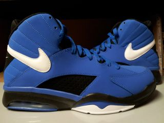 472499 401 Mens Nike Air Maestro Flight Soar Blue Black Basketball Sneakers QS