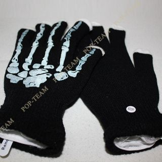 2012 Skull Hand LED Light Show Gloves for Rave Parties Dance Trance Club T54