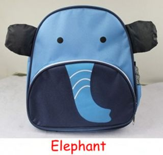 New Lovely Cartoon Animals Baby Toddlers Child Kids Backpack School Bags
