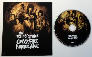 2013 Rolling Stones Crossfire Hurricane Emmy DVD HBO Documentary Mick Jagger