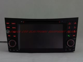 Mercedes Benz E Class W211 E200 E220 Car DVD Player GPS Navigation Stereo Radio