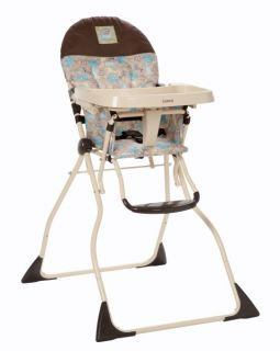 Cosco Slim Fold Baby Child Toddler Folding High Chair Kontiki HC186BGT