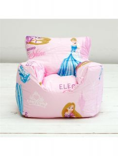 Childrens Kids Girls Boys Character Design Bean Chair Beanbag Filled with Beans