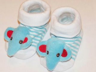 New Cute Baby Girl Boy Animal 3D Socks Boots Toddler Anti Slip Newborn 0 6 Month