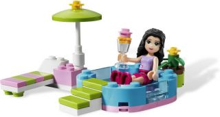 New 2012 Lego Friends 3931 Emma's Splash Pool New SEALED Great Find and Gift