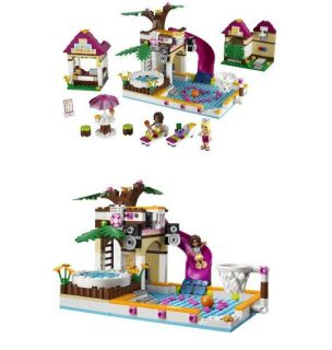 New Lego Friends 41008 Heartlake City Pool 423pcs  New in Box