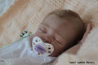 Reborn Baby Doll Lincoln Lifelike Real Skin Effect Full Torso by Laura L Eagles