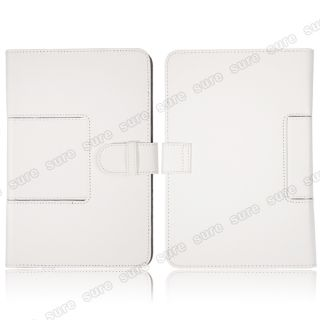 Leather Case Cover for Samsung Galaxy Tab 8 9 Tablet P7300 P7310 P7320T White