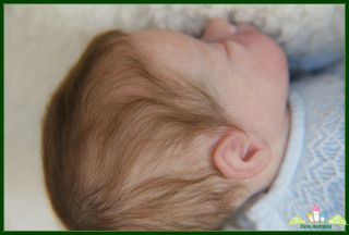 Lifelike Reborn Preemie Baby Girl from Mumma's Lil Monkey by Bonnie Brown