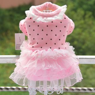 Autumn Winter Grace Ballet Dog Sweater Dog Clothing Coats Dog Dress Dog Clothes