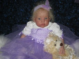 Sweet Pea Babies Nursery Reborn Toddler Doll Cuddles by Donna RuBert