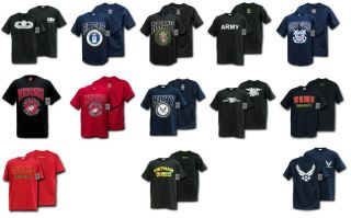 Tee Shirts Military Clothing Classic Navy Army USMC USCG Air Force T Shirt