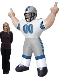 Detroit Lions Inflatable Images Airblown NFL Figure