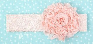 Baby Girl Infant Toddler Flower Lace Tulle Headband Headwear Hair Band Free SHIP