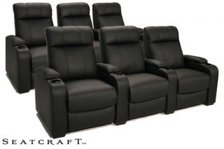 Seatcraft 5131 6 Seats Home Theater Seating Chairs