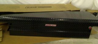Weather Guard 121501 Aluminum Low Profile Saddle Box $770 65