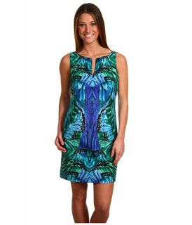 by Shelli Segal Feather Printed Dress $74.99 (  MSRP $245.00